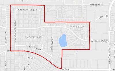 Georgetown Neighborhood In Arlington Texas